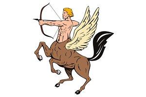Centaur Bow Arrow Shooting