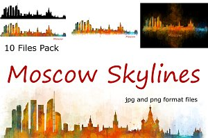 10x Files Pack Moscow Skylines