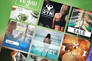 Multipurpose Social Media Banners