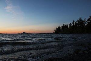 Twilight on Padilla Bay