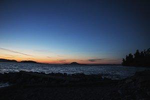 Twilight Over Padilla Bay