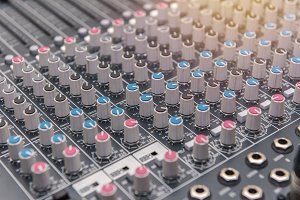 equipment for sound mixer control