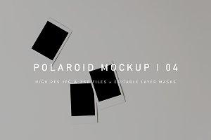 Polaroid Mockup | PSD + JPG