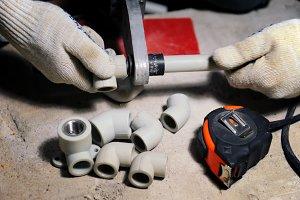 Plastic plumbing pipe