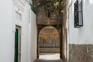 Street in the old medina of Tangier