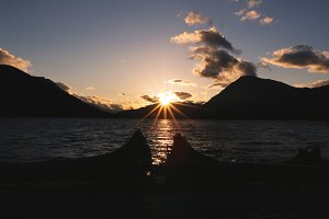 Sunset Over Lake Wenatchee 2