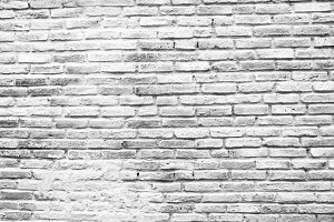 White old vintage detail brick aged wall background