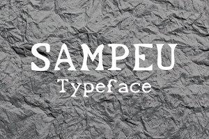 Sampeu Typeface