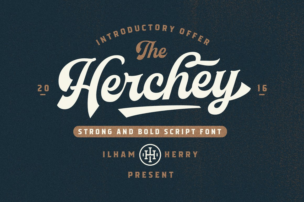 Herchey Script 50 OFF Fonts Creative Market