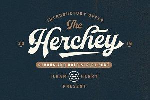 Herchey Script 50% OFF