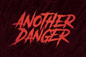 Another Danger Font-50% Discount!