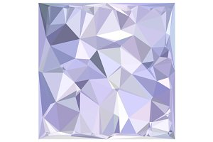 Lavender Abstract Low Polygon