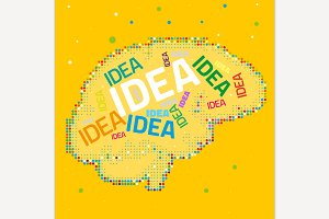 Creative Brain Image