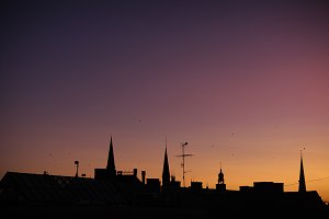 Riga. Latvia. Evening