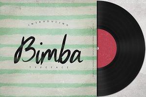 Bimba Script Typeface