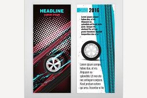 Grunge Tire Leaflet