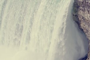 Bridal veil falls at Niagara