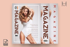 Magazine Cover Template 7