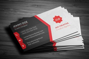 JnD - Creative Business Card Templat