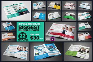 Bi-Fold Brochure Biggest Bundle