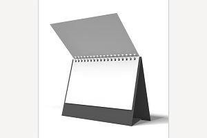 Desk Calendar. 3D Rendering