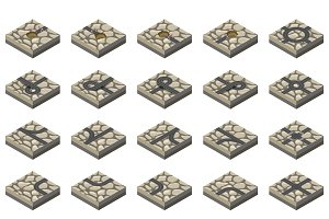 isometric road kit