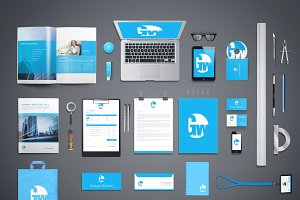 Branding & Identity Mockups Vol.1