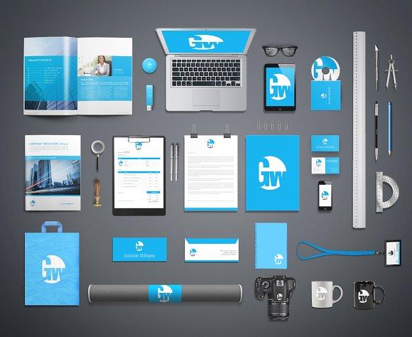 Download Branding & Identity Mockups Vol.1