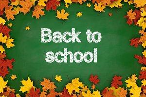 Back to school theme - set of 13