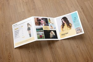 Trifold Photography Brochure -V589