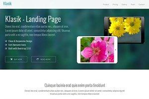 Klasik - Landing Page