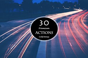 Cold Tones 30 Actions