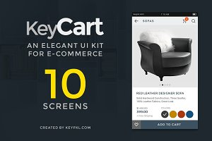KeyCart Lite | UI Kit for eCommerce