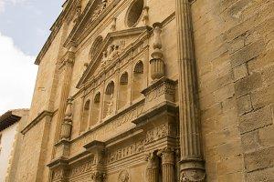 Church facade Cretas