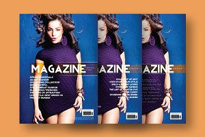 Magazine Cover Template 8