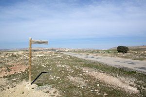 Teruel rural landscape