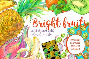 Bright fruits