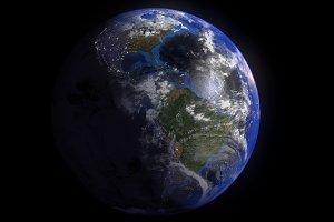 Cloudy Earth