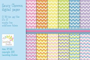 Chevron patterns/digital papers