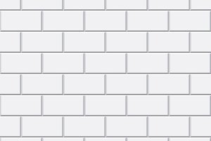 Vector white brick seamless pattern