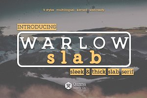 Warlow Slab - 25% off