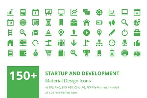 150+ Startup and Development Icons