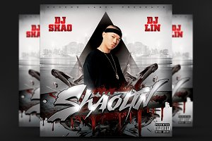 Mixtape Covers - Shaolin CD Cover