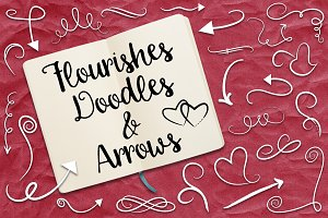 Flourish and Doodles Vector Clip Art
