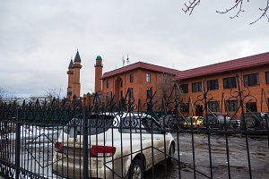 Muslim mosque in Moscow at the estate