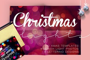 christmas lights: lettering + more!