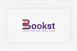 Bookst Logo Template