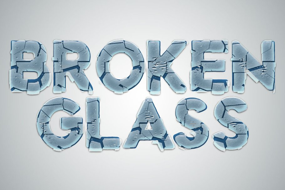 Glass Photo Template ~ Photoshop Add-Ons ~ Creative Market