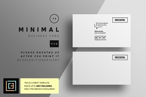 Minimal Business Card 73