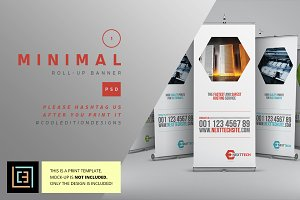 Minimal - Roll-Up Banner 1